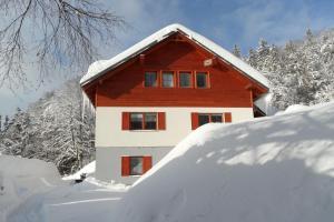 Vila Kamila im Winter