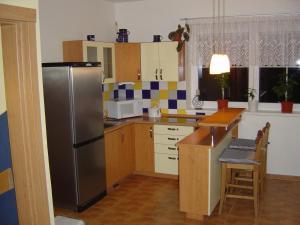 Küche/Küchenzeile in der Unterkunft Vila Kamila