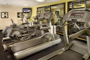 The fitness center and/or fitness facilities at TownePlace Suites by Marriott San Antonio Downtown