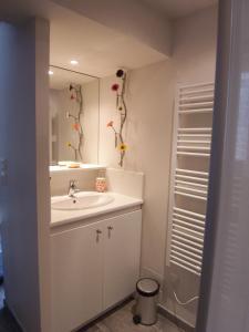 Salle de bains dans l'établissement Studio des Musiciens - quartier Orangerie