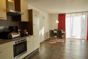 Küche/Küchenzeile in der Unterkunft Business Homes - Das Apartment Hotel