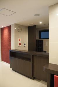 Area lobi atau resepsionis di Hotel Excellence Kyoto Ekimae