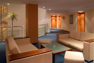 Кът за сядане в Хотел Луксор