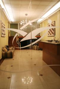 El vestíbulo o zona de recepción de Hotel Gavina Express