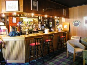 The lounge or bar area at Atholl Arms
