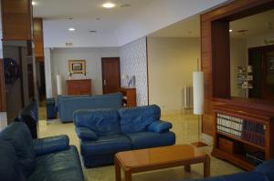 A seating area at Hotel Alaiz