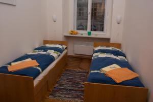 Ein Bett oder Betten in einem Zimmer der Unterkunft Apartment Havlíčkova