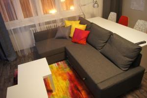 Postel nebo postele na pokoji v ubytování Apartmany Ostrava