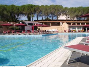 The swimming pool at or near Club Esse Cala Bitta
