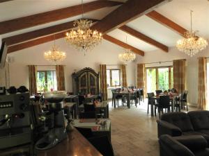 Restaurace v ubytování Villa Ermitage