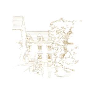 L'établissement Hotel Du Vieux Moulin en hiver