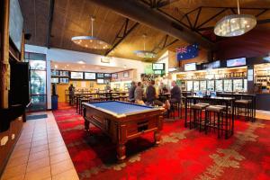 A pool table at Glenmore Tavern