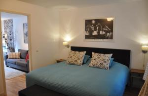 Ein Bett oder Betten in einem Zimmer der Unterkunft Artist House Amsterdam
