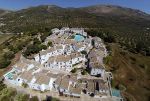 A bird's-eye view of Villa Turística de Priego