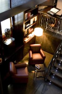 A seating area at Hotel Boutique Gareus