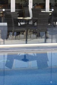 The swimming pool at or close to Livadia Hotel Kyperounta