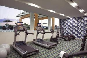 The fitness center and/or fitness facilities at Citadines Uplands Kuching