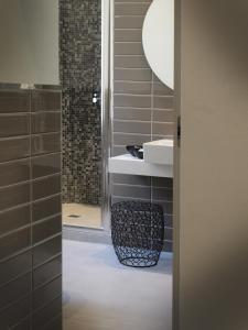 A bathroom at Ca' D'Andrean
