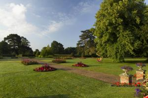 A garden outside Champneys Tring