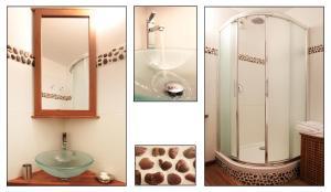 A bathroom at City Break Picquecailloux