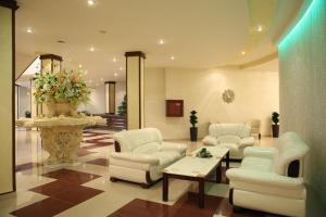 The lobby or reception area at Multi Rest House