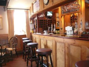 The lounge or bar area at The King William IV Country Inn & Restaurant