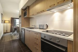 A kitchen or kitchenette at Quest Melbourne Airport