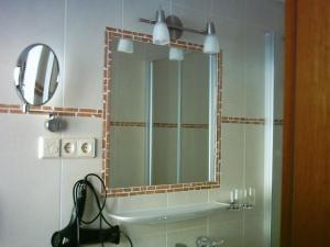 Ein Badezimmer in der Unterkunft Haus Christl