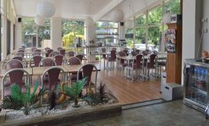 A restaurant or other place to eat at Mittagong Motel