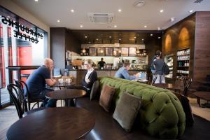 The lounge or bar area at Malmaison Birmingham