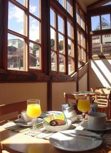 Opciones de desayuno disponibles en Hotel Da Vinci