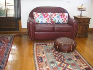 A seating area at C & A's Cottage