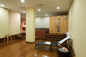 Χώρος καθιστικού στο Efplias Hotel Apartments