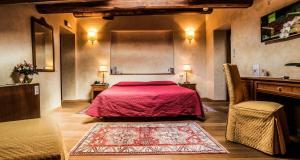 Кровать или кровати в номере Hotel Palazzo San Niccolò