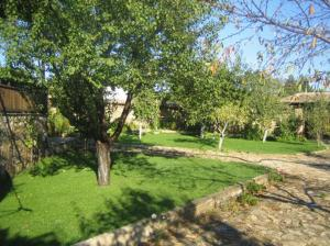 A garden outside Arbanassi Hotel
