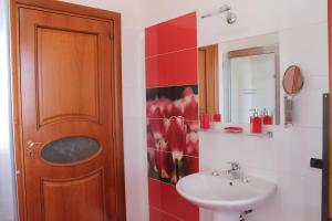 Łazienka w obiekcie B&B Vesuvio Smiling