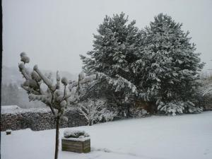 A la Bergerie during the winter