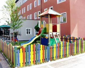 Children's play area at Hotel Servus Europa Suben