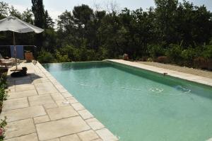 The swimming pool at or near Le Mas Saint Jacques