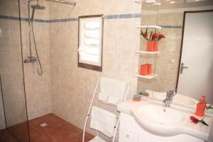 Ein Badezimmer in der Unterkunft Residences Guadeloupe