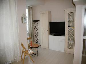 TV a/nebo společenská místnost v ubytování Apartment Helena