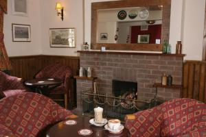 A seating area at The Swan Hotel