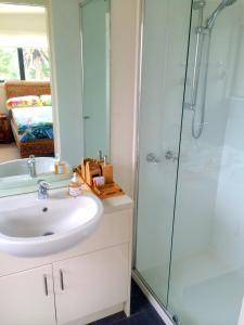 A bathroom at Award Winning Beach Front Retreat