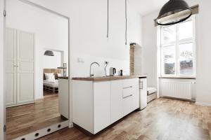 Kuchnia lub aneks kuchenny w obiekcie Laiko Apartments