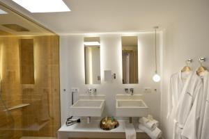 A bathroom at Paraíso de los Pinos