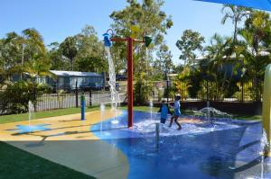 The swimming pool at or near BIG4 Mackay Blacks Beach Holiday Park