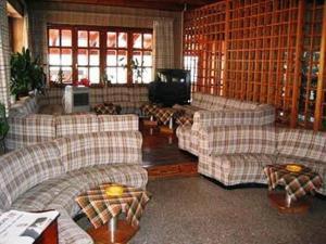 Area soggiorno di Hotel Quo Vadis