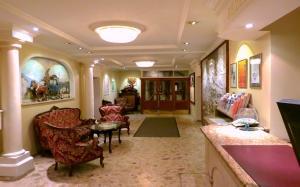 Lobby/Rezeption in der Unterkunft Hotel Turnerwirt