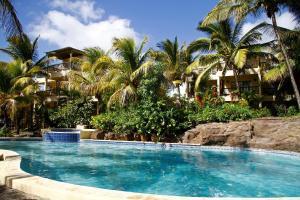 Het zwembad bij of vlak bij Hibiscus Boutique Hotel