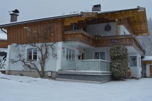 Gästehaus Huber im Winter